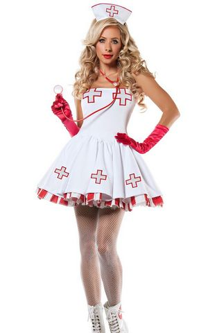 F1609 Nurse Nightingale Costume