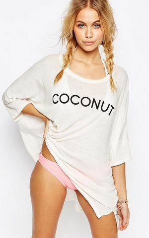 F4546-2 Coconut Sunday Morning Tee