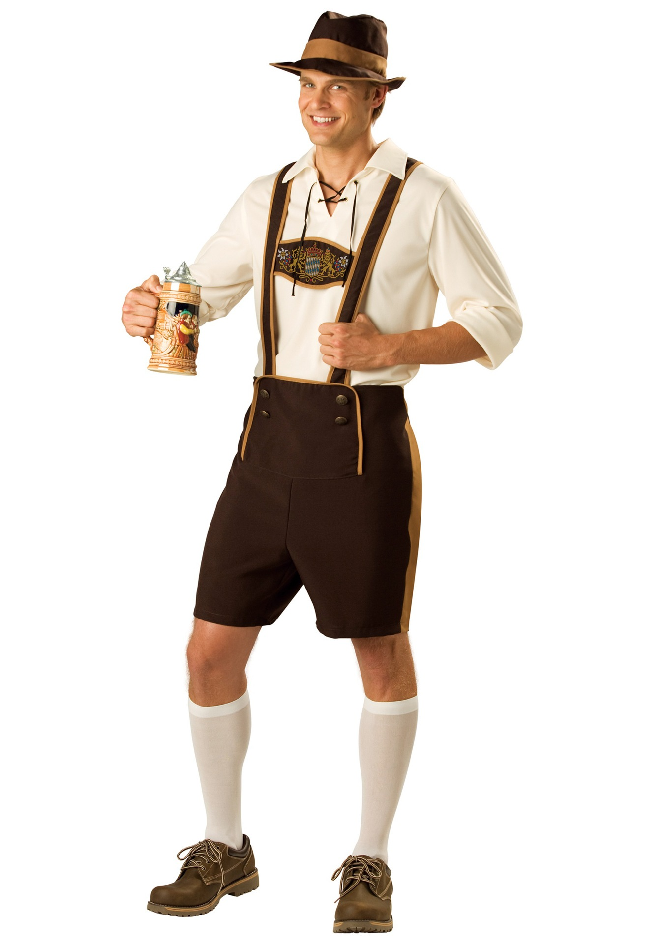 F1633 MENS GERMAN LEDERHOSEN COSTUME