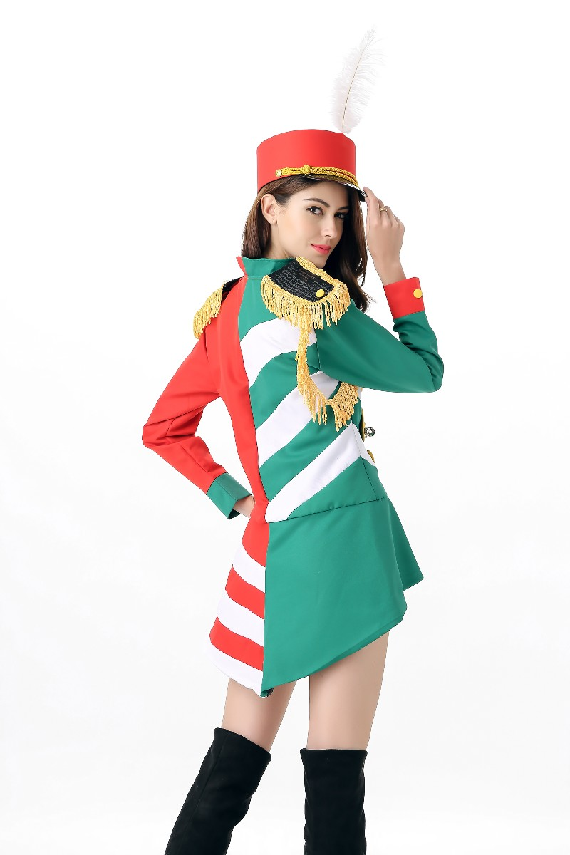 F1635 Red Honor Guard Halloween Costume