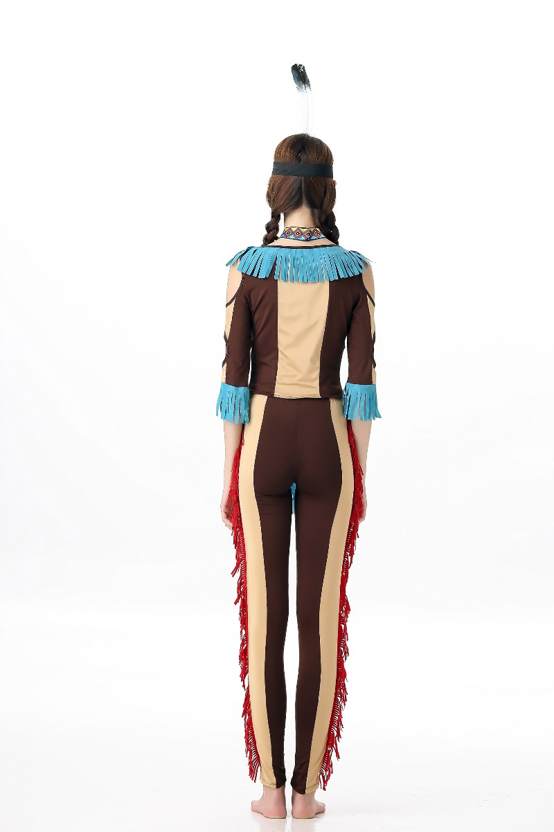 F1638 Womens Tribal Native American Costume