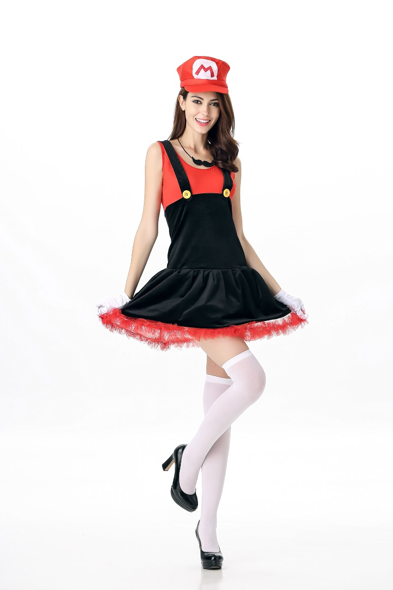 F1645-1 Super Mario Cosplay Costumes