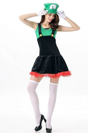 F1645-2 Super Mario Cosplay Costumes