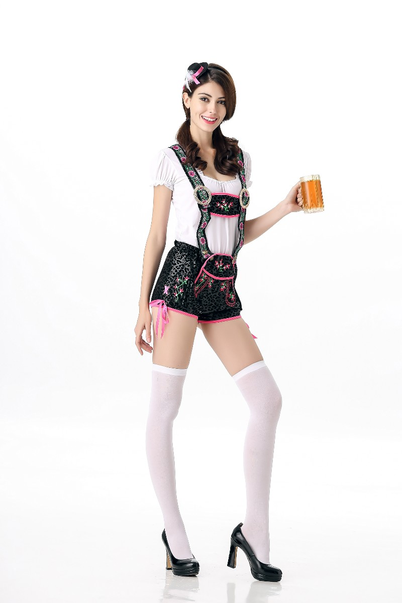 F1650 New Halloween Oktoberfest Sexy Fraulein Sweetheart Beer Girl Adult Costume