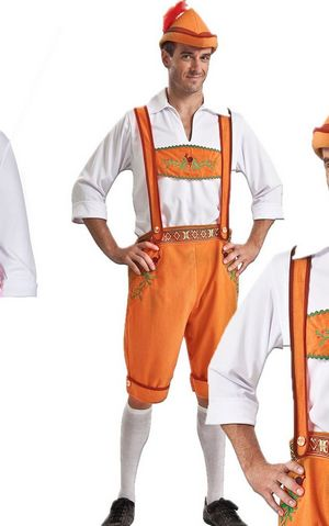 F1660 Cosplay Oktoberfest Men Costume