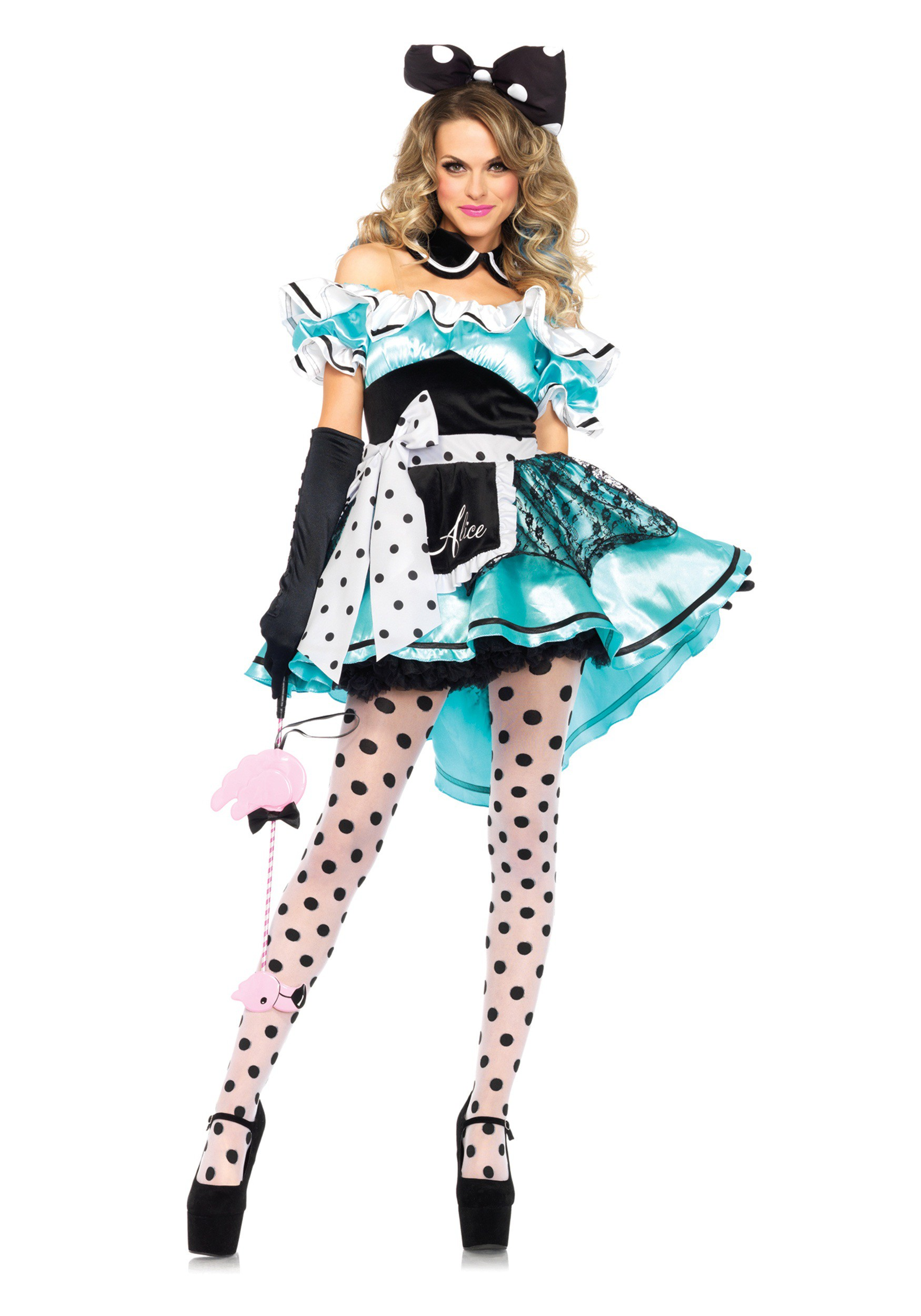 F1663 Adult Delightful Alice Costume