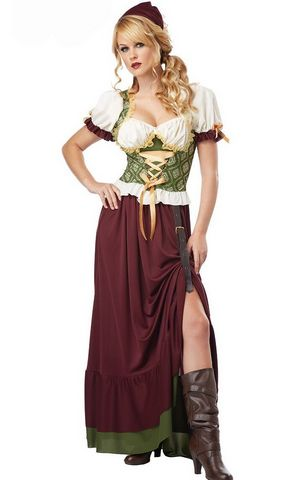 F1667 Renaissance Wench Costume