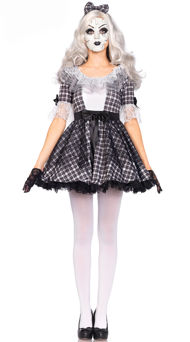 F1670Sexy Womens Pretty Porcelain Doll Costume