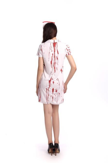 F1675Halloween sexy nurse costume for women