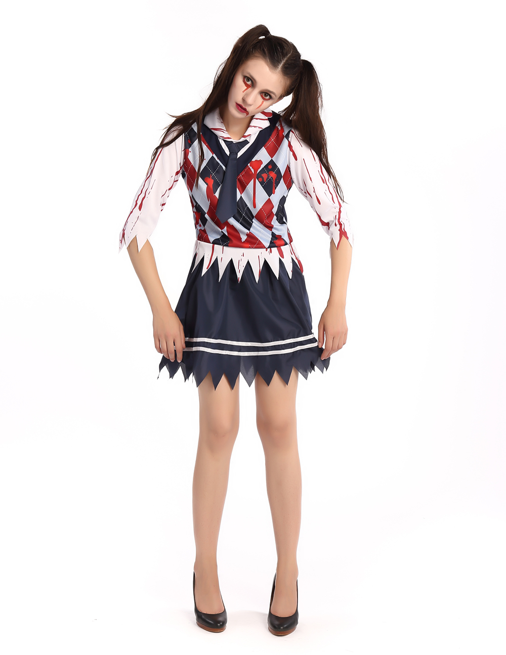 F1676 Halloween sexy school costume for girl