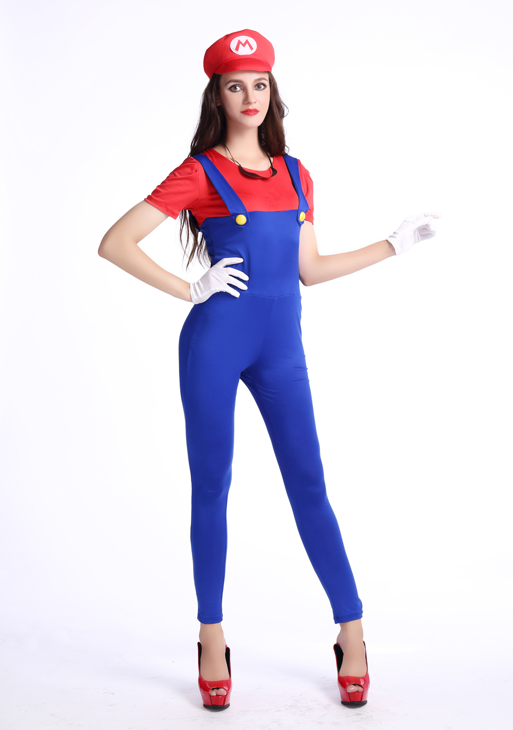 F1679-1 Halloween Women Fancy Dress Cosplay Costumes Outfits