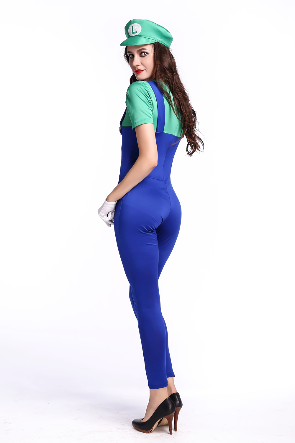 F1679-2 New cosplay women bodysuit costume,it comes with hat,bodysuit,gloves