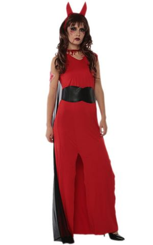 F1698 Red bloody cosplay costume for halloween