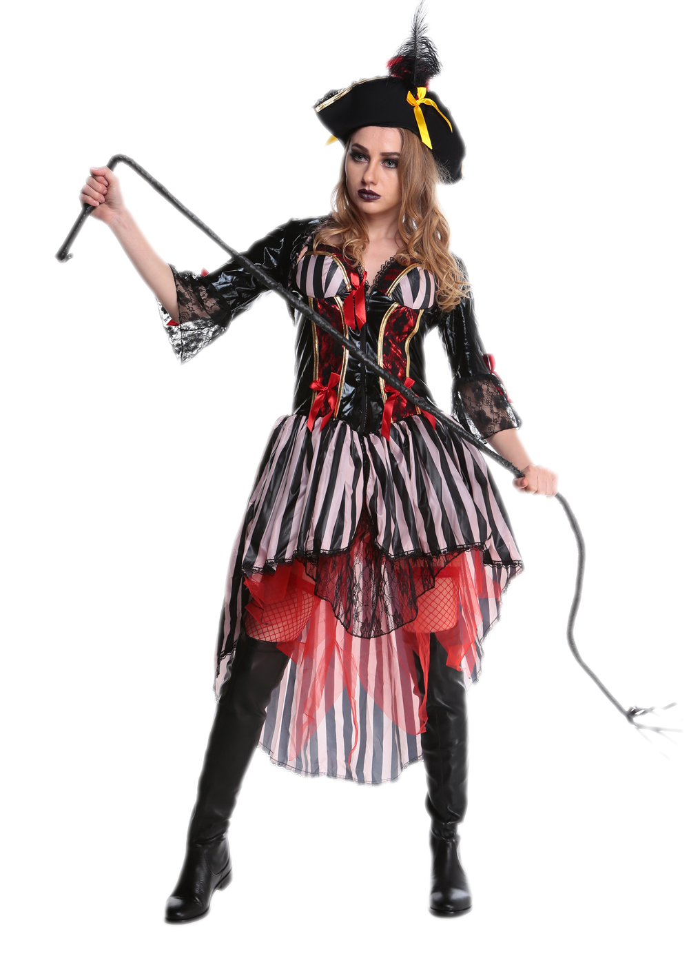 F1705 Women Halloween Party Pirates of the Caribbean Fashion Of Clothing Dresses