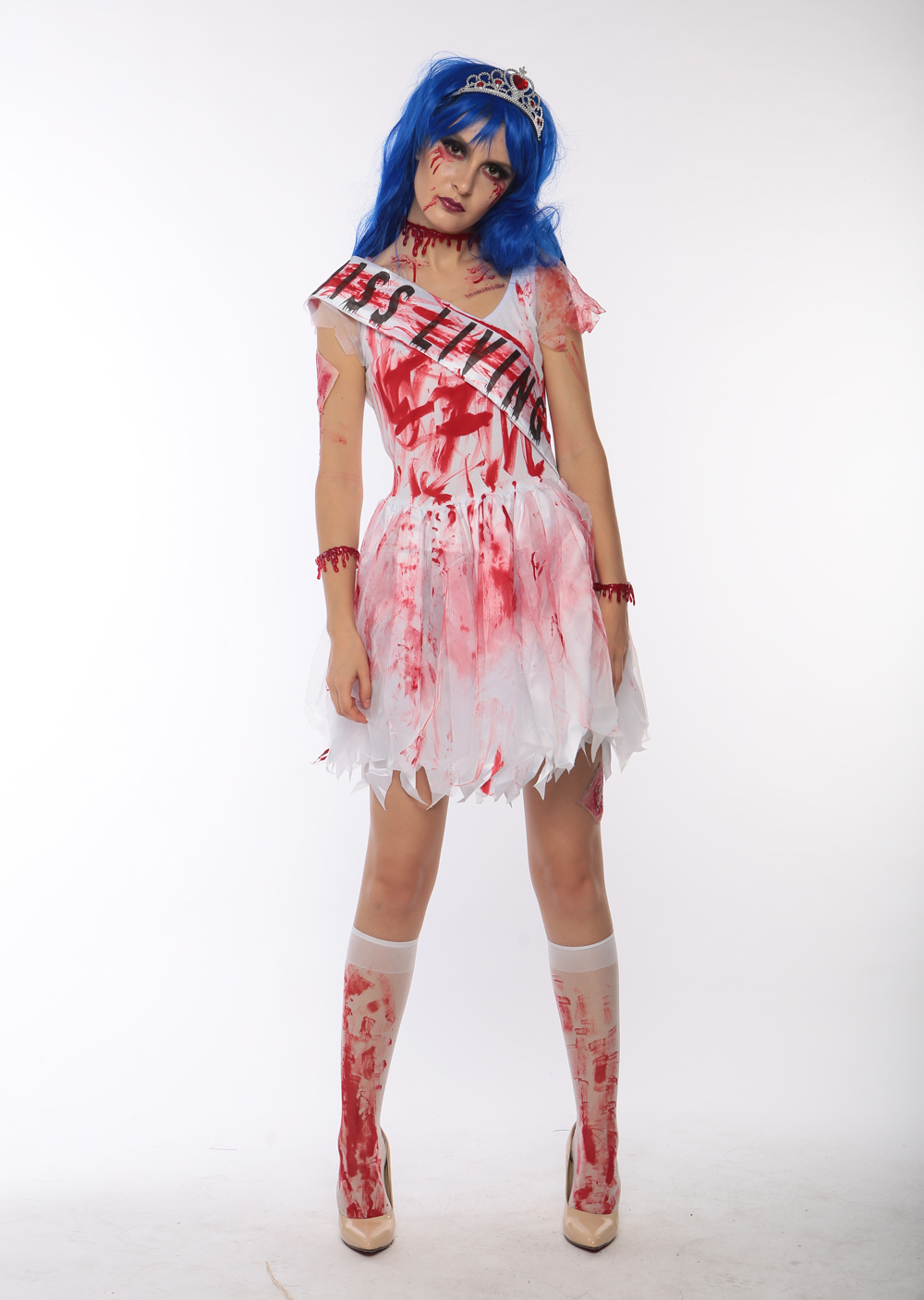 F1710 halloween zombie fancy cosplay costume