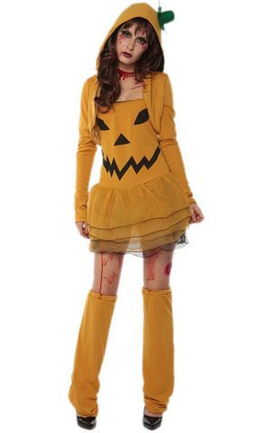 F1715 halloween pumpkin costume