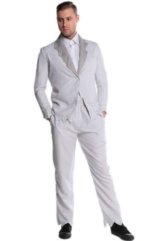 F1735 halloween zombie bridegroom costume,it comes with coat,tshirt,panty