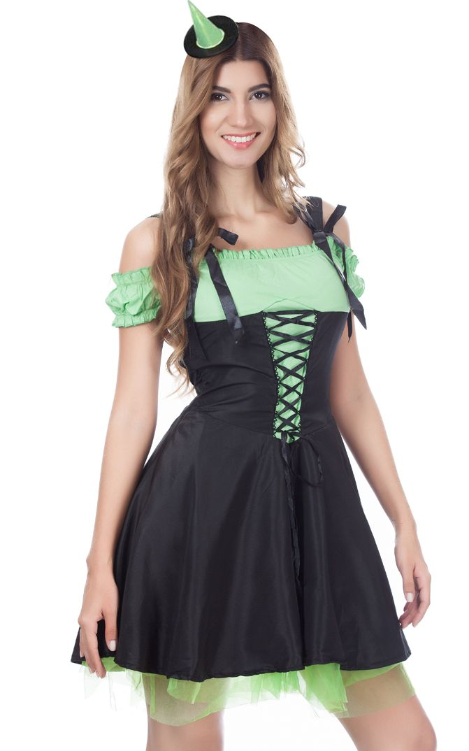 Green Wicked Witch Costume