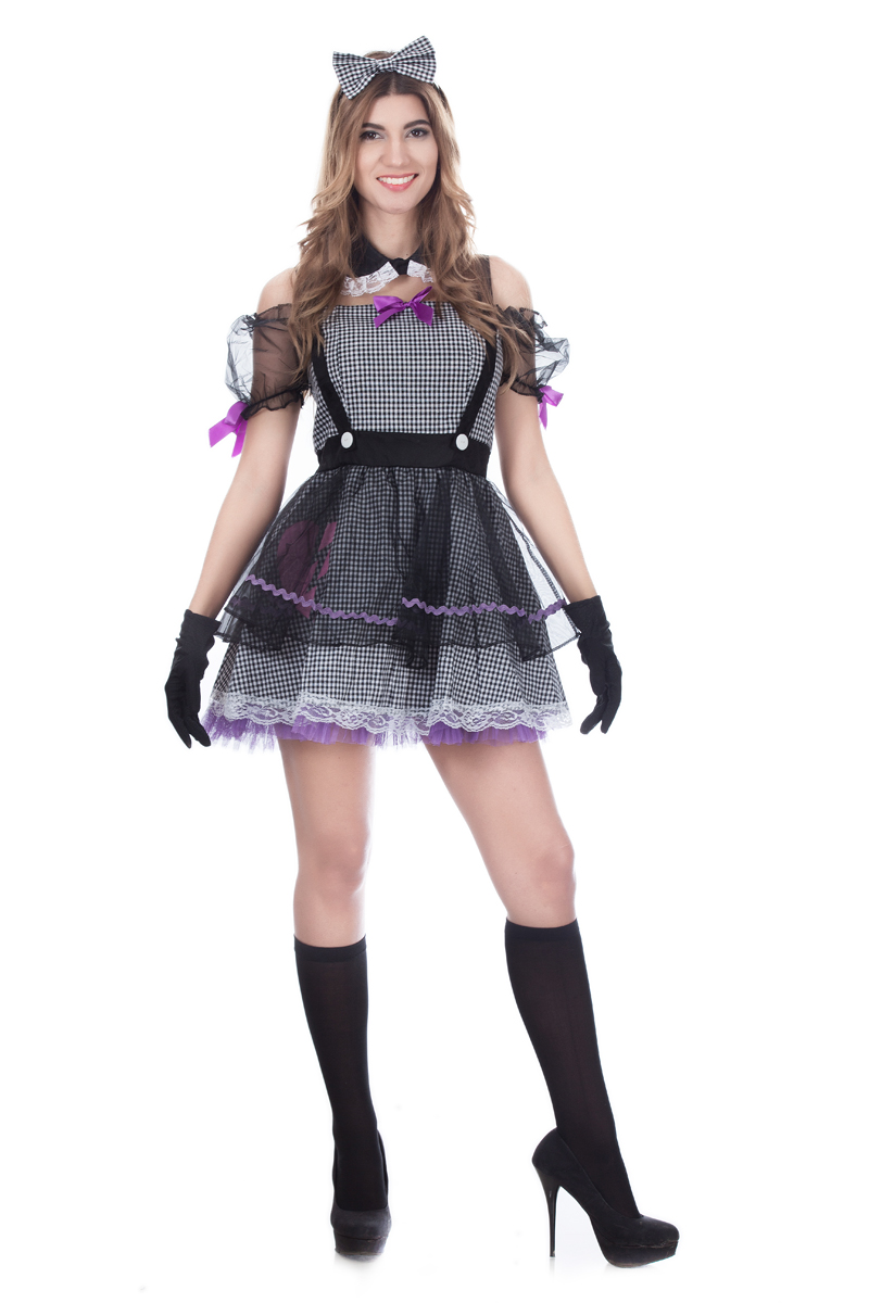 F1671 Dead Eye Dolly Costume