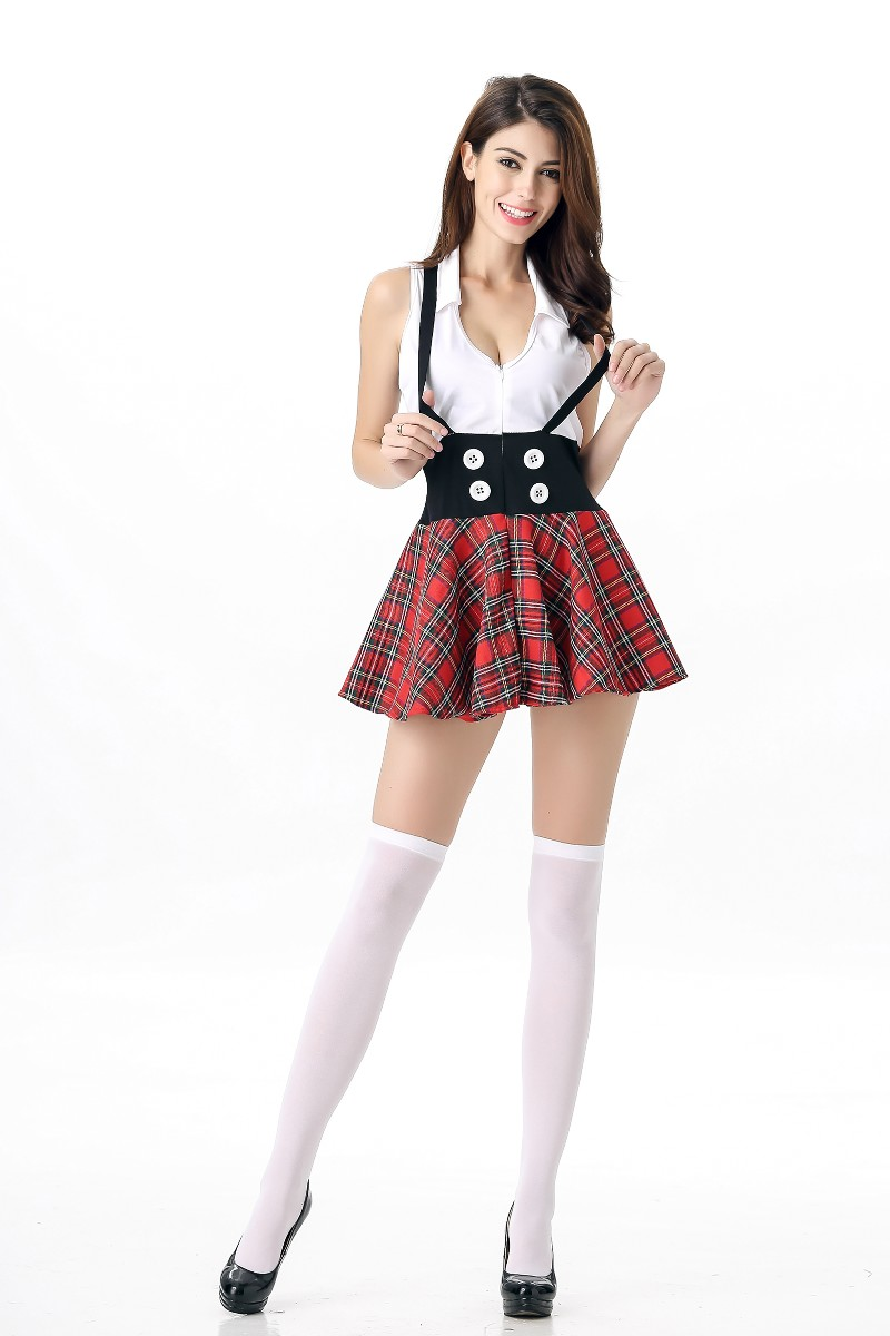 F1739 Wholesale Sexy School Girl Adult Costume