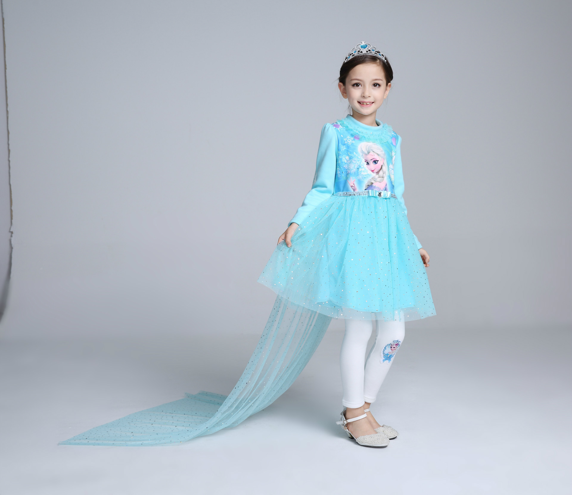 F68122-1  Girls princess skirt