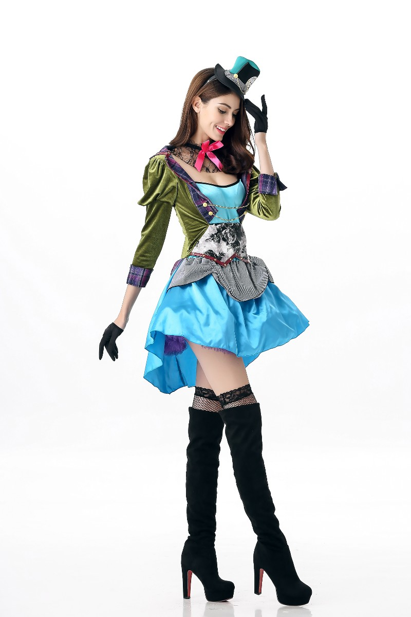 F1750 cosplay costume top quality elegante dress cosplay
