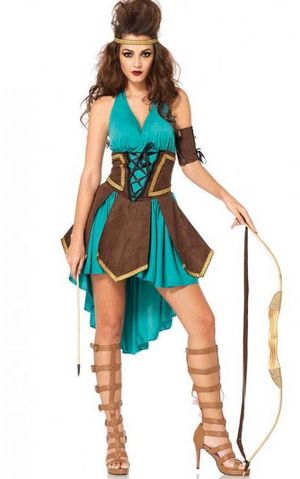 F1751 Sexy Celtic Warrior Costume