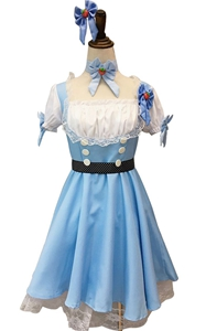 F1758 Wonderland French Maid Costume Of Luxury Dress For Women