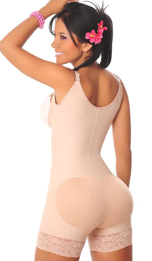 F3236-1 Sexy Body Shaper With Zip