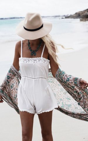 F4555  Floral Chiffon Beach Cover Up For Women