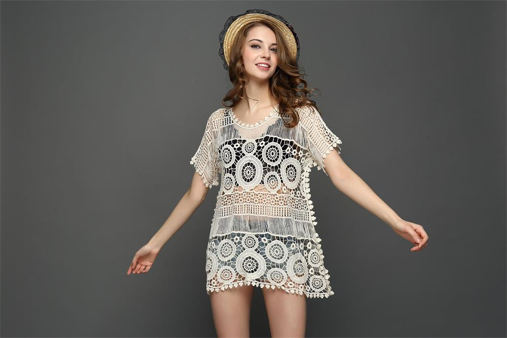 F4635 Cheap Cover Up Beach Swimsuits Beachwear Summer 2017 cover Up