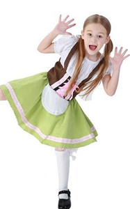 F68135 girls Oktoberfest maid costume