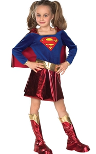 F68137 Girls superhero costumes