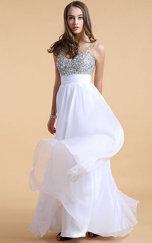 WD1505-5 Chiffon wedding dress