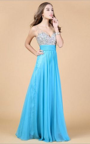 WD1505-7 Chiffon wedding dress