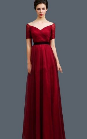 WD1509-2 elegant Evening Dress
