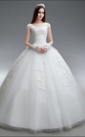 WD1538  bride wedding gown