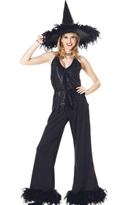 F1773 Womens Glamour Witch Costume