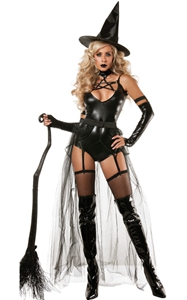 F1775 Miss Witchcraft Costume