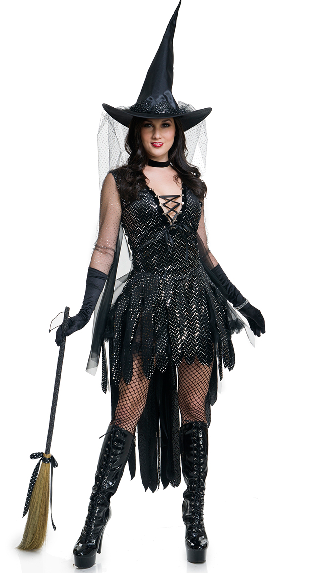 F1776 Glamorous Witch Costume