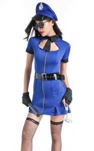 F1781 Adult Bad Cop Costume