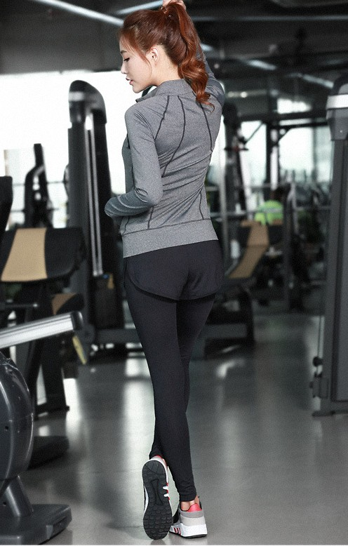 YG1023-1 Women Gym Clothes