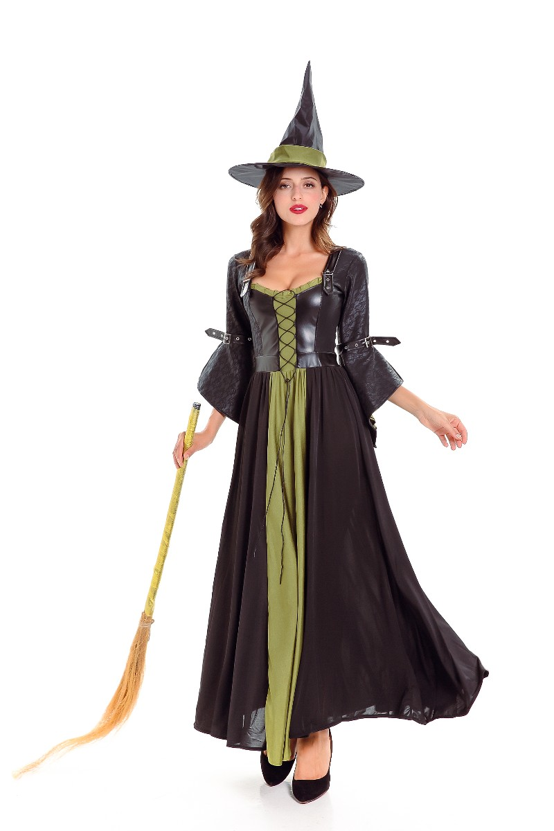 F1788 Adult Classic Witch Costume