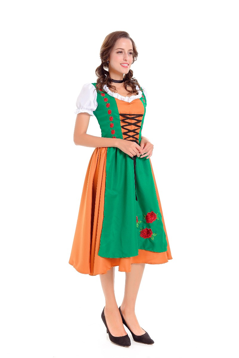 F1790 Ladies Traditional Bavarian Girl Fancy Dress Costume