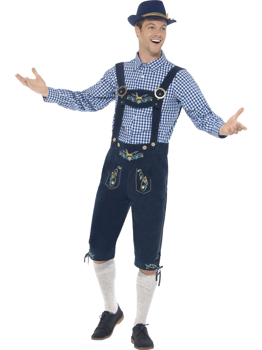 F1785 Adult Deluxe Traditional Men Bavarian Costume