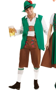 F1791 Mens Traditional Bavarian Fancy Dress Costume