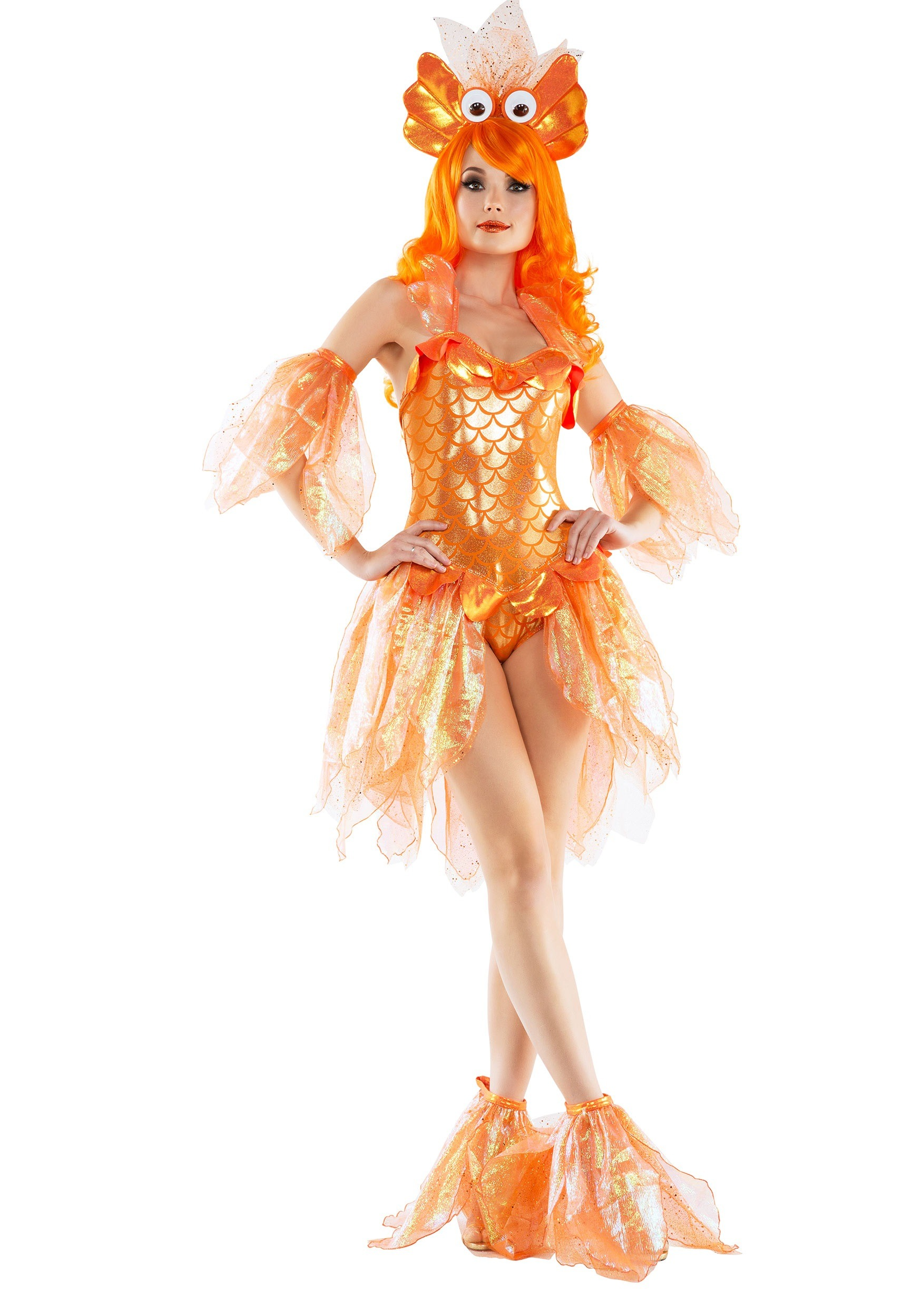 F1814 Fancy Gold Fish Costume Adult