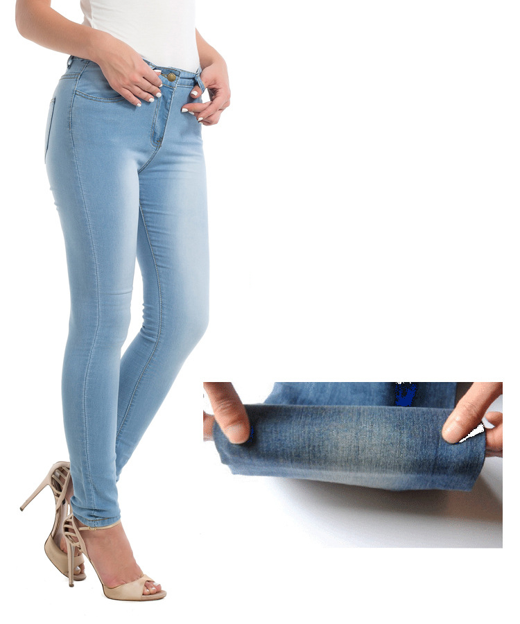 SZ60100-2 Fashion Stretch jeans Skinny Pencil Leggings Jeans