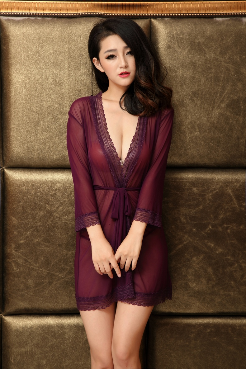 F5394-1Nightgowns And Dress For Women Babydoll With