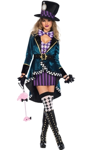 F1852 Hatter costume woman
